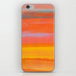 paint stripes three iPhone Skin