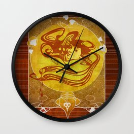 Sonnet Wall Clock