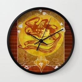 Sonnet Wall Clock