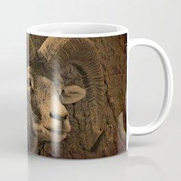 Animal - Capricorn - Mammal - Bock - Mouflon - Nature - Horns. Beautiful nature. Great outdoor. Go explore Coffee Mug