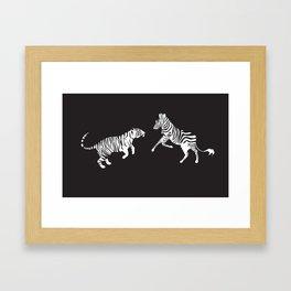 The Contest Framed Art Print