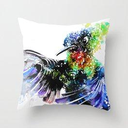 Hummingbird 4 Throw Pillow