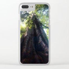 Big fig Clear iPhone Case
