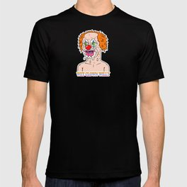 WET CLOWN WILLY T-shirt