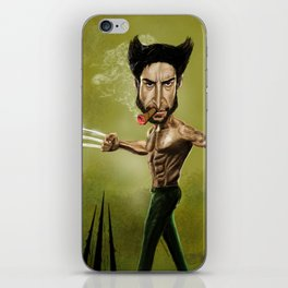 WOLV CARICATURE iPhone Skin