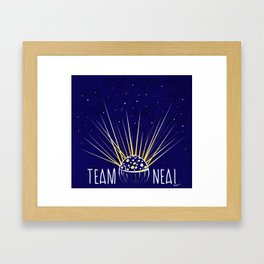 Team Neal Framed Art Print