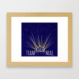 Team Neal Framed Art Print