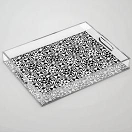 Fifty/Fifty Acrylic Tray
