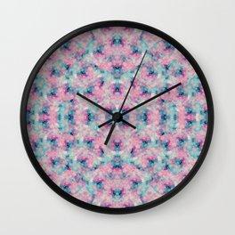 Foggy Blush Wall Clock