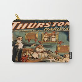 Vintage poster - Thurston the Magician Carry-All Pouch