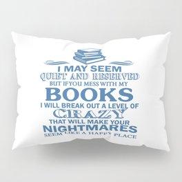 BOOKS CRAZY Pillow Sham