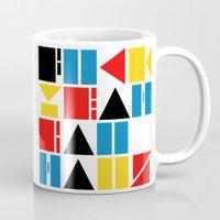bauhaus Mugs featuring Fuck Yeah Bauhaus! by Picomodi