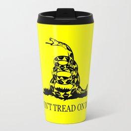Gadsden flag - Don't tread on me Travel Mug