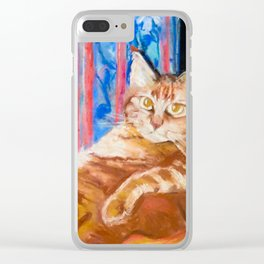 beloved Simba Clear iPhone Case