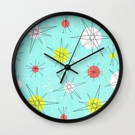 Atomic Era Art 'Planets' Wall Clock