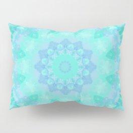 Aqua Kaleidoscope 7 Pillow Sham