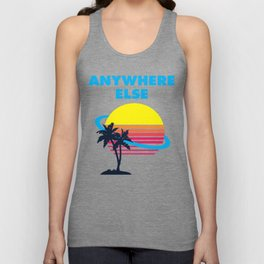 Wish I Was There Unisex Tank Top