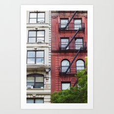 NYC Fire Escapes II Art Print