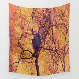 Montauk Fall Forest Wall Tapestry