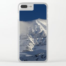 """""""Foggy mountains"""". Alcazaba  mountain 3371 meters Clear iPhone Case"""