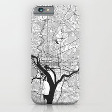 Washington Map Gray iPhone 6s Slim Case
