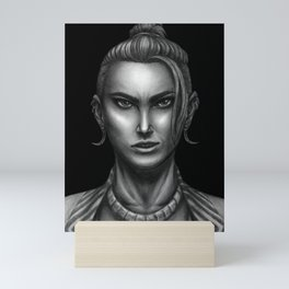 Monk Beauregard Portrait Mini Art Print