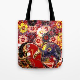 Becoming One Heart Tote Bag