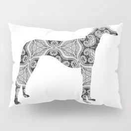 Paisley Dog No. 2 - Extra Large Pillow Sham