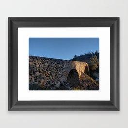 Puente Romano Framed Art Print
