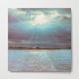 Across The Water Metal Print