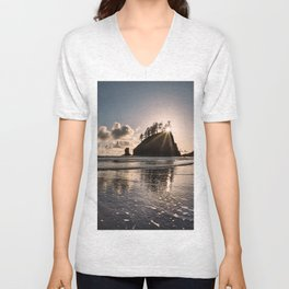 Second Beach Light and Current Unisex V-Neck