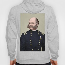 Sidebunrs, a colourisation  of Ambrose Burnside Hoody