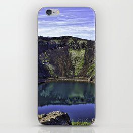 Kerid Crater Lake in Iceland iPhone Skin