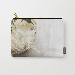 White Naked Cake Carry-All Pouch