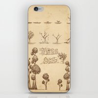 tree of life iPhone & iPod Skins featuring Tree Life by Mono Ahn