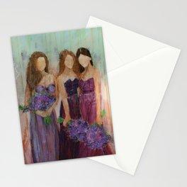 Bridesmaid Sista Trio Stationery Cards