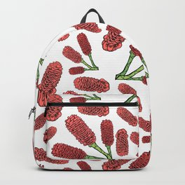 Australian Native Flowers - Decorative Ginger Backpack