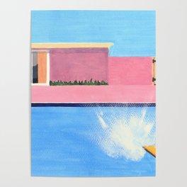Splash! after David Hockney Poster