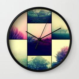 Foggy Impact Wall Clock
