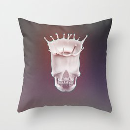 Calcium Is Good for You! Color ED. AKA Skull KING Throw Pillow