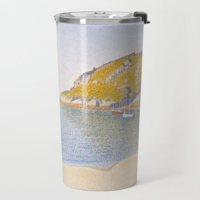 Port of Saint-Cast Travel Mug