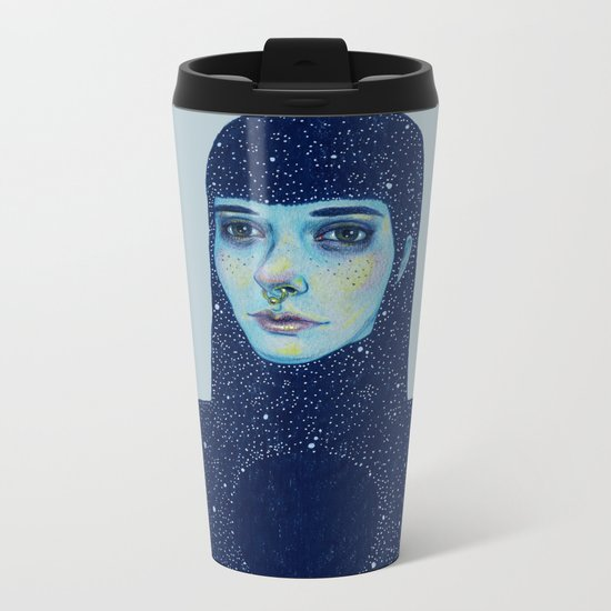 Black Hole Metal Travel Mug