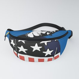 Keith Prodigy Blue and Black *All proceeds donated to charity* Fanny Pack