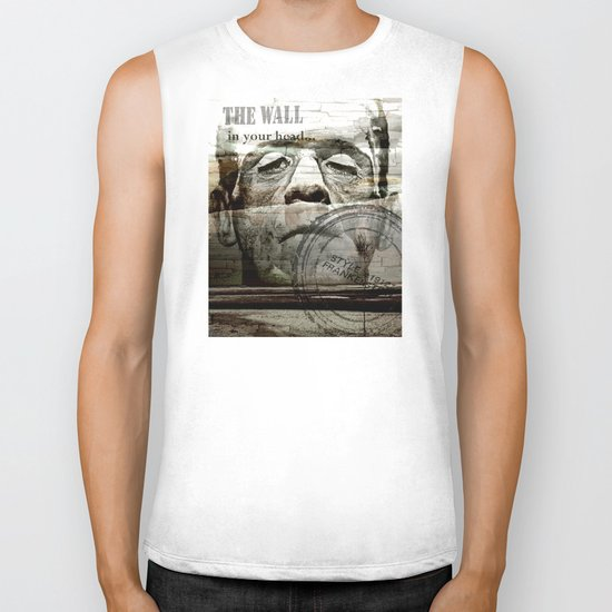 The wall in your head...  Biker Tank