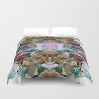 crystal Duvet Covers featuring Crystal by Joanna Tadger