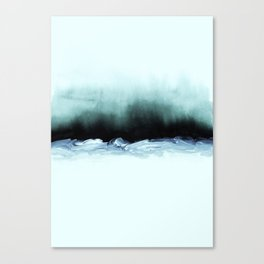 nordic shores 1 Canvas Print