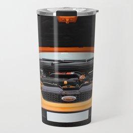 Orange Focus Travel Mug