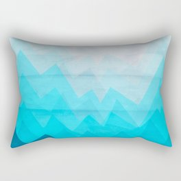 Ice Mounts Rectangular Pillow