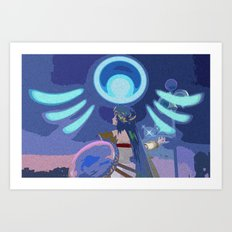 A Little Divine Intervention Art Print