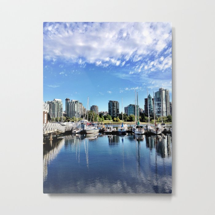 Sailing Club Metal Print